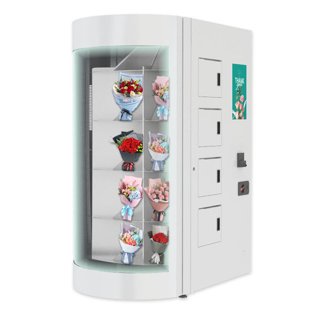 360 Degree Rotation Segregation Flower Vending Machine